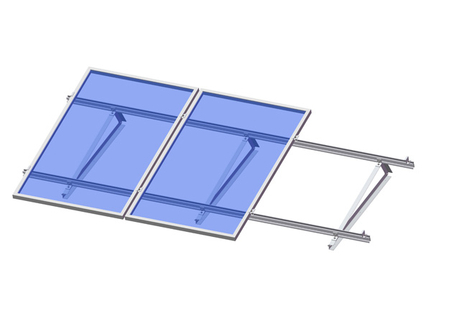 Flat Roof -Angle Bar Triangle Kit