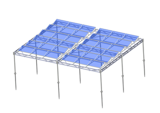 Steel Solar Farm Mounting System-C Type Carbon Steel