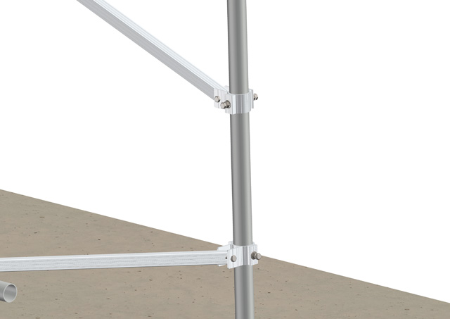 Steel Pipe Ground Mounting System